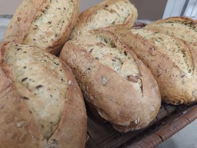 Chia pain aux graines de chia artisanal