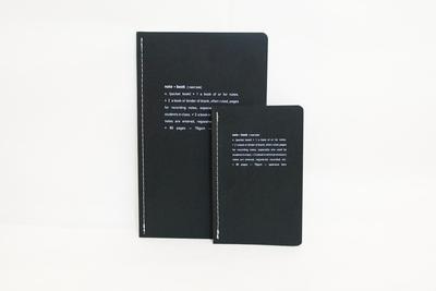 Petit carnet de note - noir