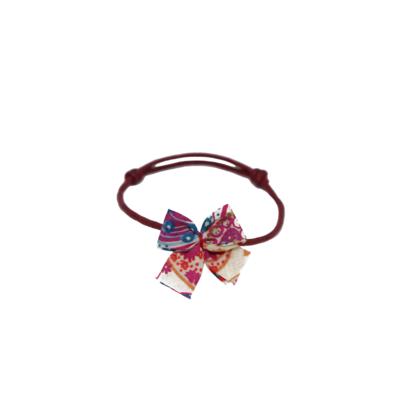 Bracelet Noeud-Noeud Multicolore en Coton Femme