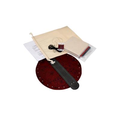 """Box """"Atelier Création"""" de bourse en cuir modèle japonais"""