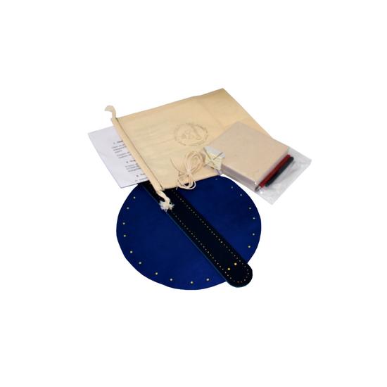 """Box """"atelier création"""" de bourse modèle marin en cuir"""