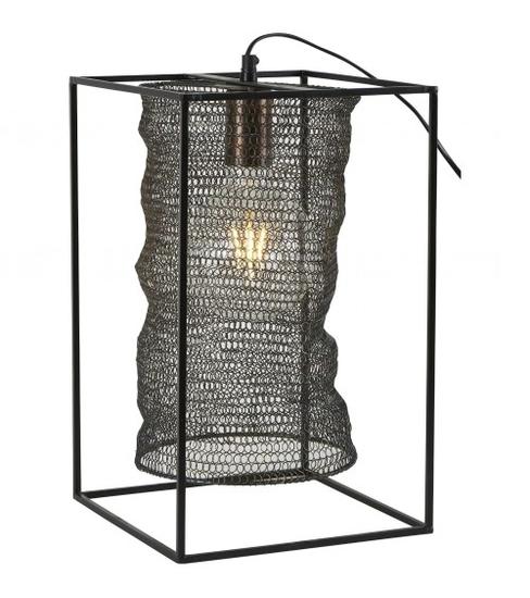 Lampe nacre 25x25xH40 cm Athezza