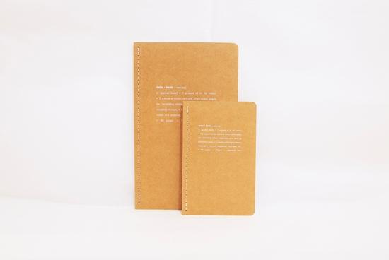 Grand carnet de note - naturel