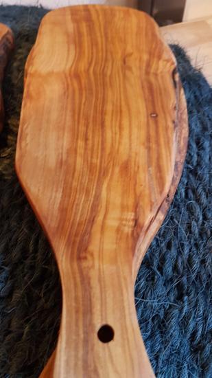 """Planche en bois d'olivier """"Rustique"""""""