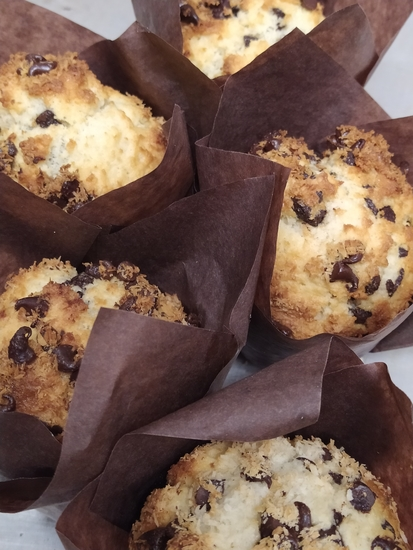 Muffin coco chocolat maison